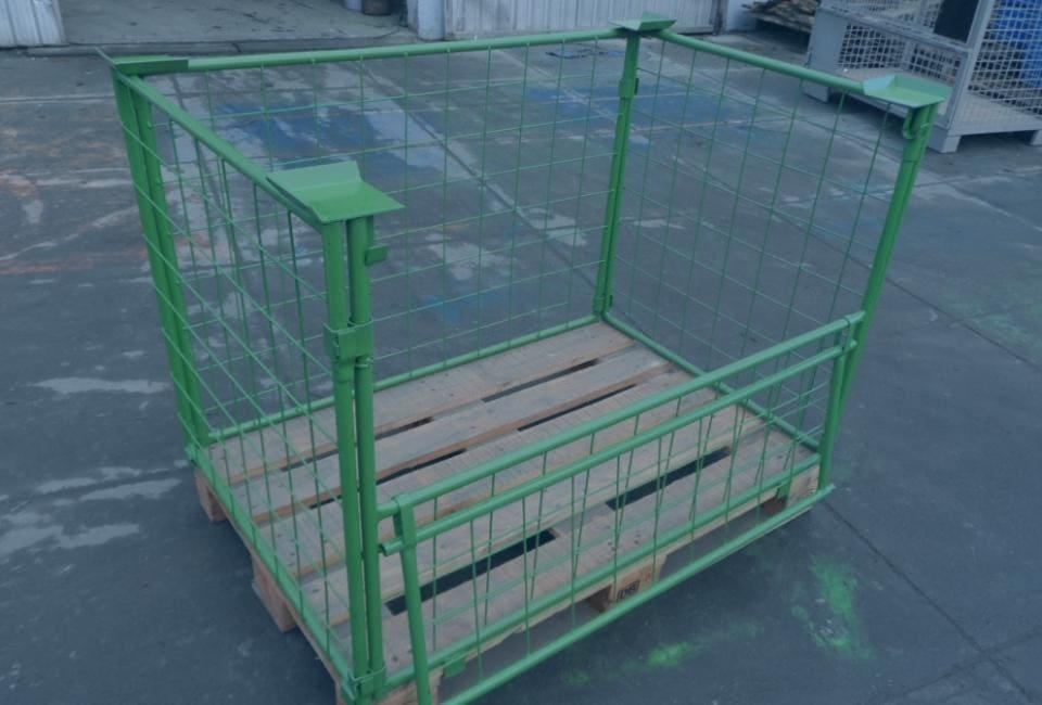 Zielona klatka